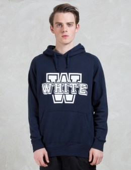 """White Mountaineering Fleece Lining """"W"""" Hooded Parka Picture"""