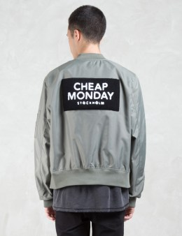 Cheap Monday Rank Patch Bomber Jacket Picture