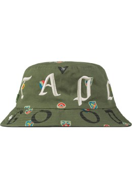 Staple Green Combat Bucket Hat Picture