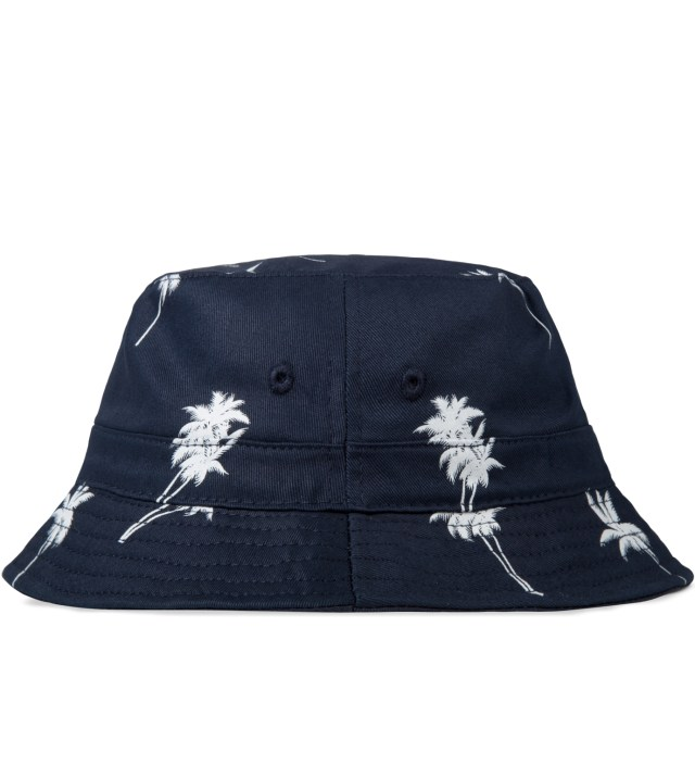 10.DEEP Navy Palm Thompson Fisherman Bucket Hat