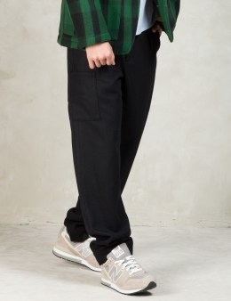 GARBSTORE Black Wool National Troop Pant Picture