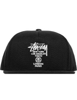 Stussy World Tour Canvas Cap Picture