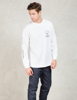 Us Versus Them White L/S Get Lost T-Shirt Picture