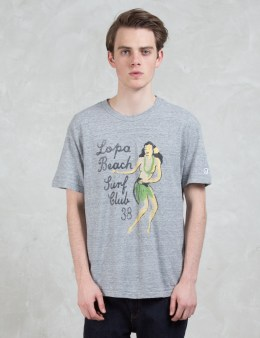 Todd Snyder + Champion Lopa Beach Print S/S T-shirt Picture