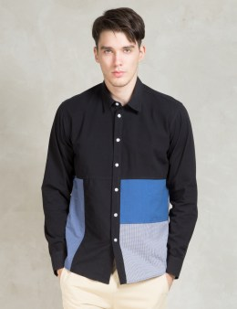 Soulland Multi Miller Shirt W.fabric Patches Picture