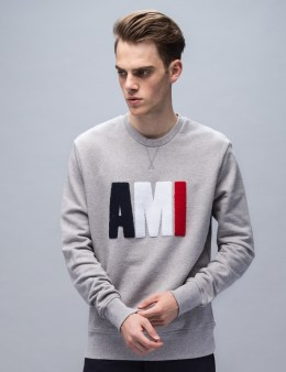 ami Ami Crew Neck Sweatshirt Picture