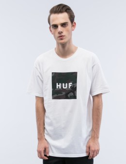 HUF Muted Military Box Logo S/S T-Shirt Picture