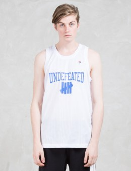 UNDEFEATED University Basketball Jersey Picture