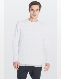 ZANEROBE White Bronx Crewneck Sweater Picture