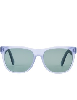 SUPER BY RETROSUPERFUTURE Classic Velvet Baby Blue Sunglasses Picture