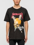 Tour Merch Metallica Damage T-shirt Picutre