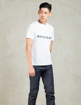 Matthew Miller White T-shirt Resistant Picture