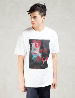 Black Scale White Eat The Rich T-shirt Picture