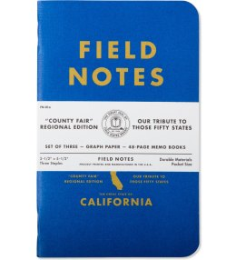 Field Notes California County Fair Picture