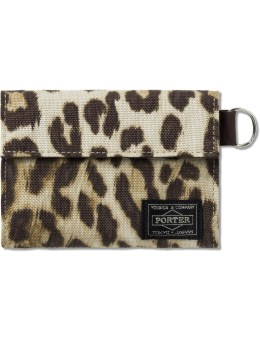 Head Porter Leopard Wallet (m) Picture