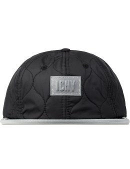 ICNY Black Shelter 6-panel Ball Cap Picture