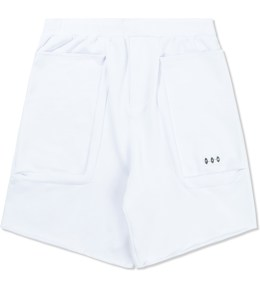 P.A.M. White Terry Duplo Shorts Picture
