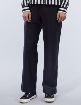 YMC Thin White Duke Trousers Picture
