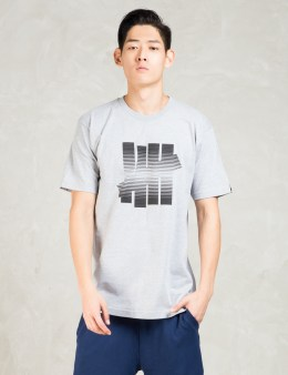 UNDEFEATED Grey 5 Strike Fade T-Shirt Picture