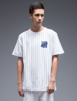 UNDEFEATED Pinstripe Crewneck T-Shirt Picture