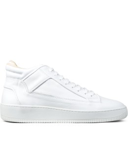 ETQ White Mid Top 2 Sneakers Picture