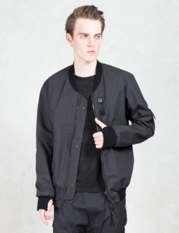 11 By Boris Bidjan Saberi Reversible Bomber With Perforated Finger At Back Picture