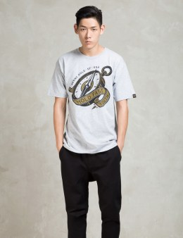 Benny Gold Grey Compass T-shirt Picture