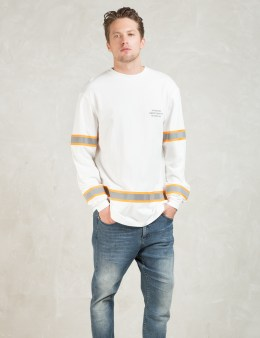 10.DEEP White L/S Safety T-Shirt Picture