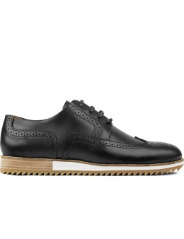 piola Leather Miraflores Wingtips Brouge Shoes Picture
