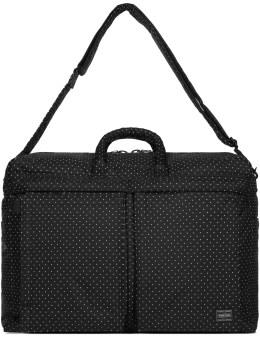 Head Porter Black Dot Duffle Bag Picture