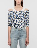 Rocket X Lunch Leopard Off-Shoulder Top Picutre