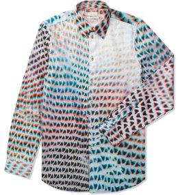 Paul Smith Lightbox Mesh Print Shirt Picture