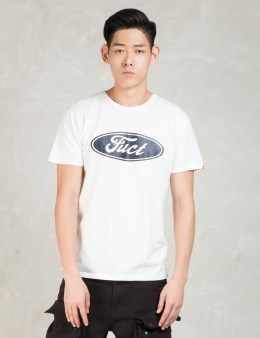 FUCT SSDD White F Oval T-Shirt Picture