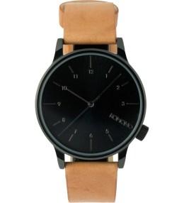 KOMONO Cognac Winston Regal Watch Picture