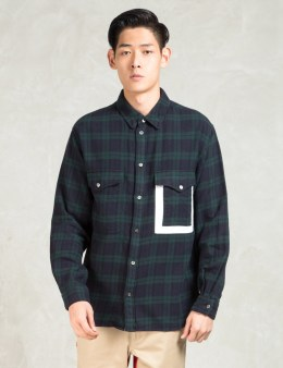 Head Porter Plus Green 3 Pocket Shirt Picture