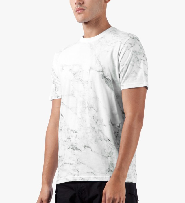 Carhartt WORK IN PROGRESS White S/S Marble T-Shirt