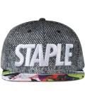 Staple Crosscourt Snapback Picture