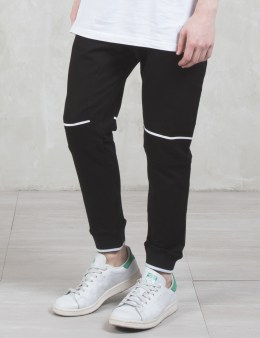 STAMPD Striped Stretch Terry Pants Picture