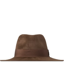 Larose Brown Fedora Hat Picture