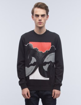 DIESEL BLACK GOLD Sal-waves Sweatshirt Picture