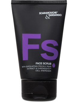 Scaramouche + Fandango. Men's Face Scrub 100ml Picture