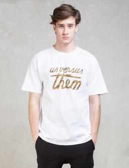 Us Versus Them Magnum T-Shirt Picture