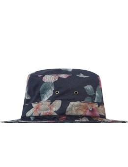 HUF Black Aloha Aina Bucket Hat Picture