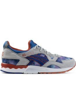 ASICS Tie-dye/Dark Blue GEL-LYTE V Shoes Picture