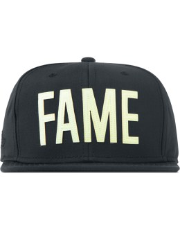 HALL OF FAME Black Swing GITD Snapback Picture