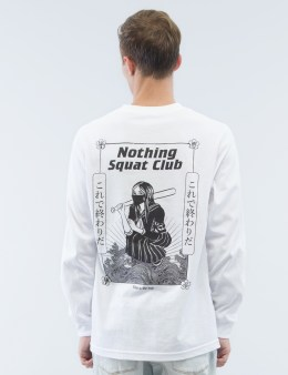 "Nothing ""Squat Club V.2"" L/S T-Shirt Picture"