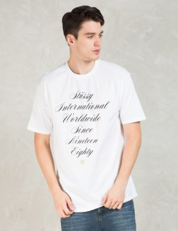 Stussy White International Script T-Shirt Picture