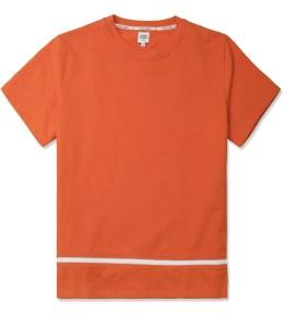 Opening Ceremony Burnt Orange Zipper Gusset T-Shirt Picture