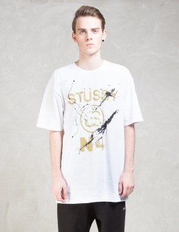 Stussy Stussy No. 4 Paint T-Shirt Picture