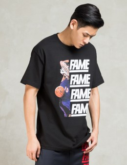 HALL OF FAME Black Fame Dunk S/s T-shirt Picture
